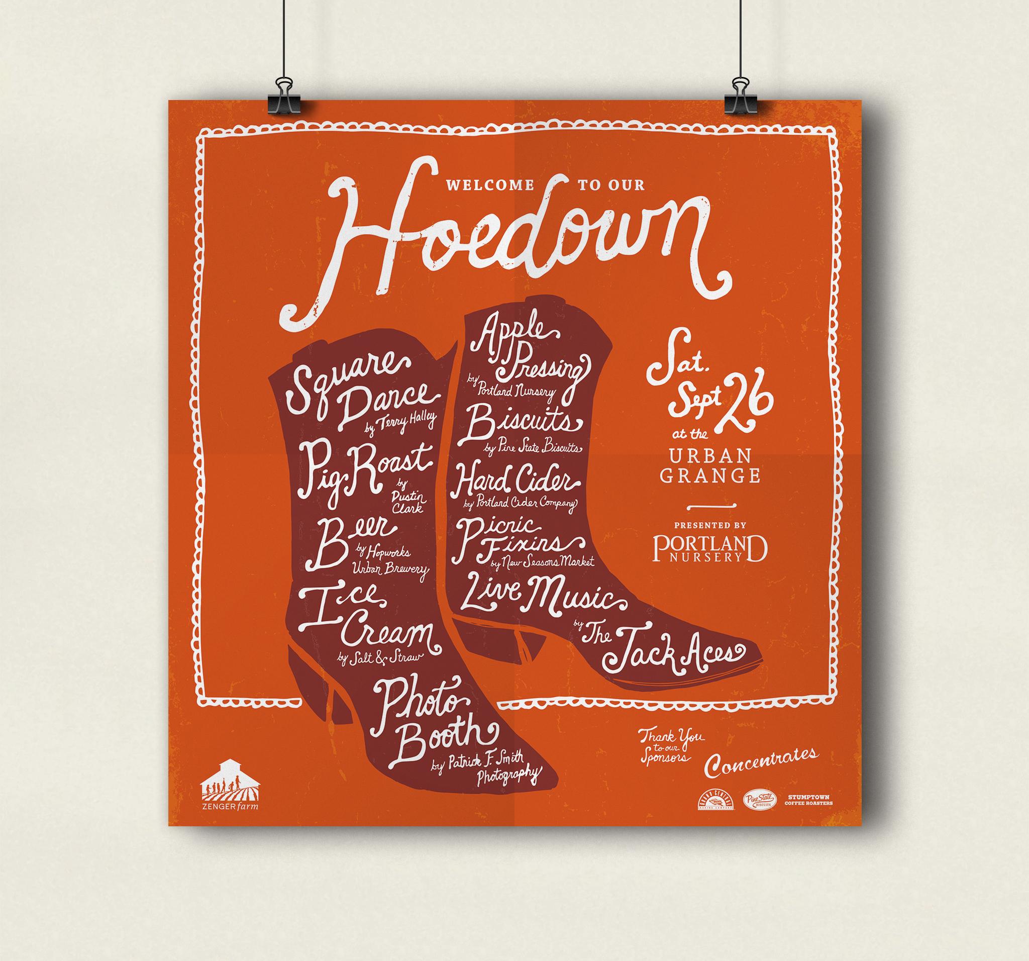 ZEN_Hoedown_Poster